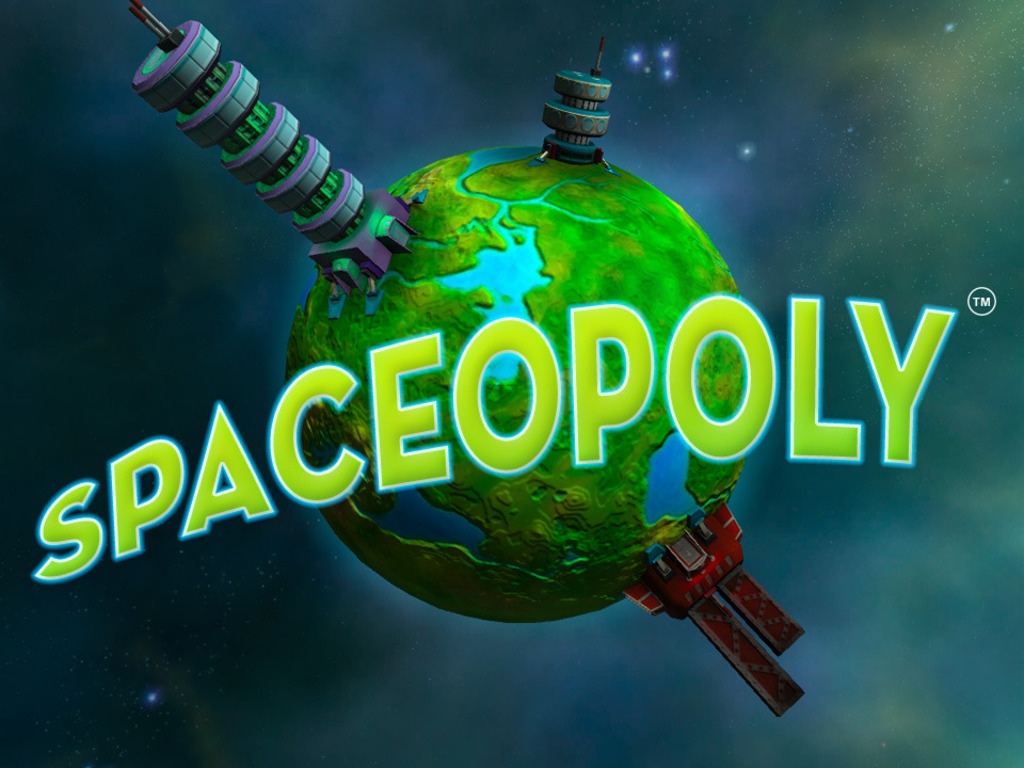 Spaceopoly: a multiplayer sci-fi adventure game's video poster