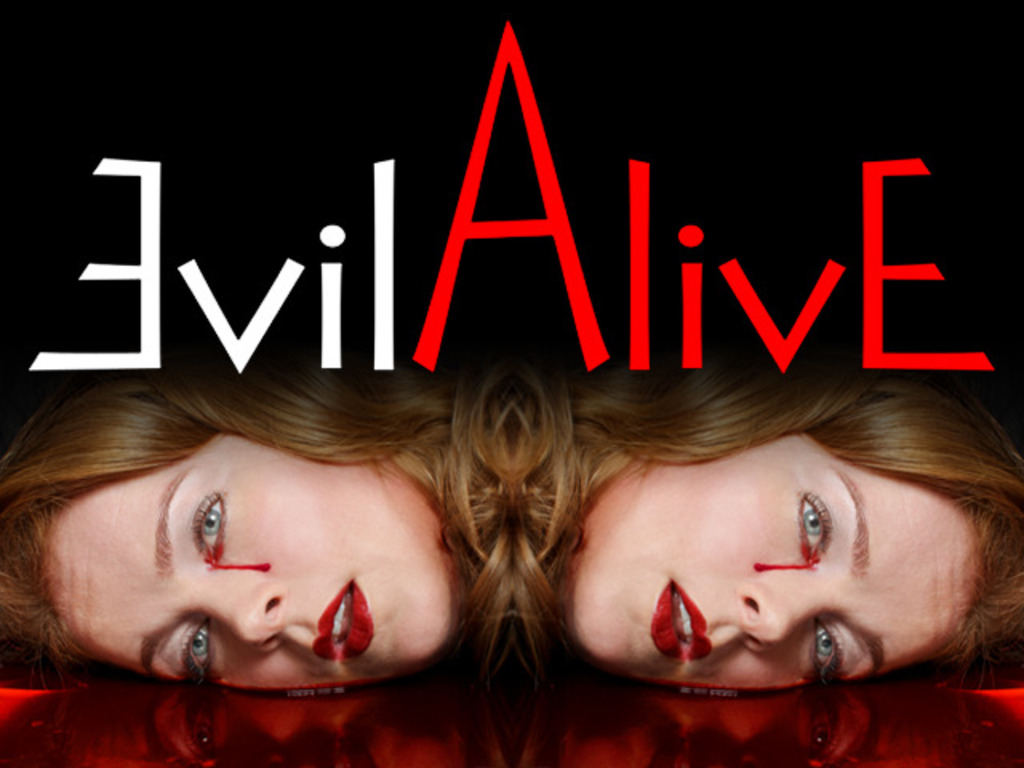 EVIL ALIVE - unique supernatural horror movie's video poster