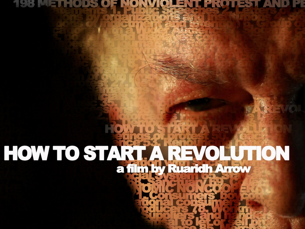 HOW TO START A REVOLUTION a new documentary film's video poster