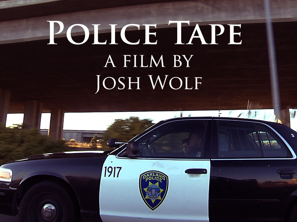 Police Tape, a film about the impact of recording the police's video poster