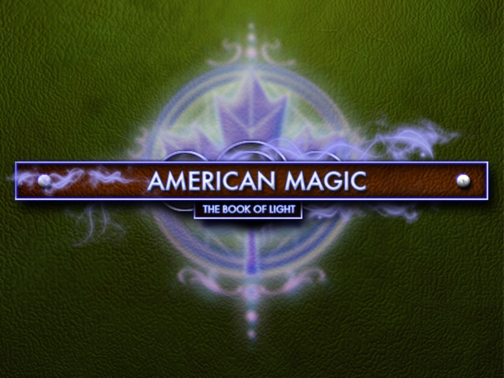 American Magic: The Book of Light's video poster
