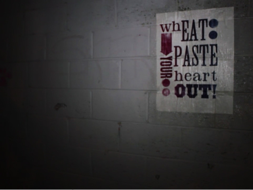 'Wheat Paste Your Heart Out' A Group Show and Installation's video poster