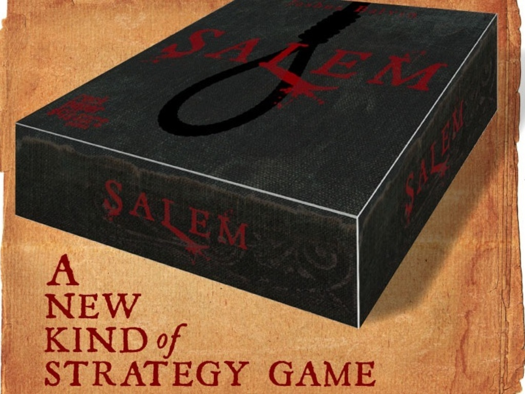 Salem: An Innovative New Strategy Board Game for 3-7 players's video poster