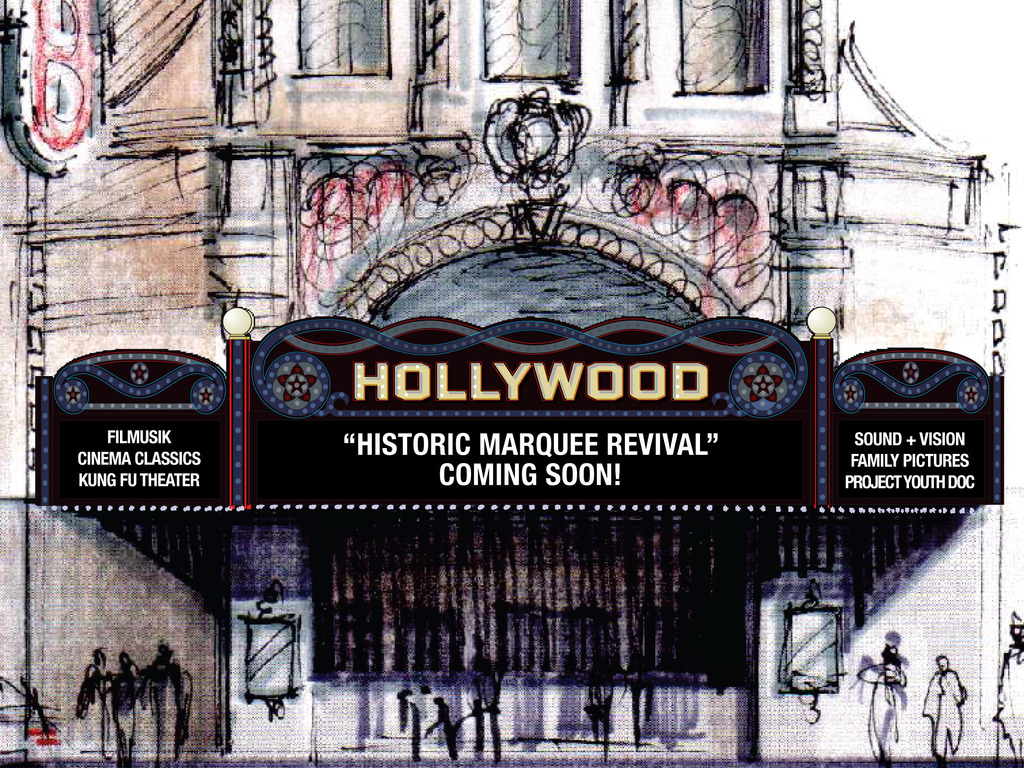 Hollywood Theatre Historic Marquee Revival's video poster