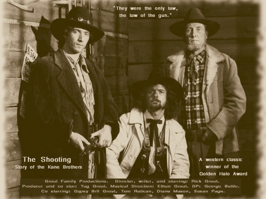 "Finish the film ""The Shooting story of the Kane Brothers""'s video poster"