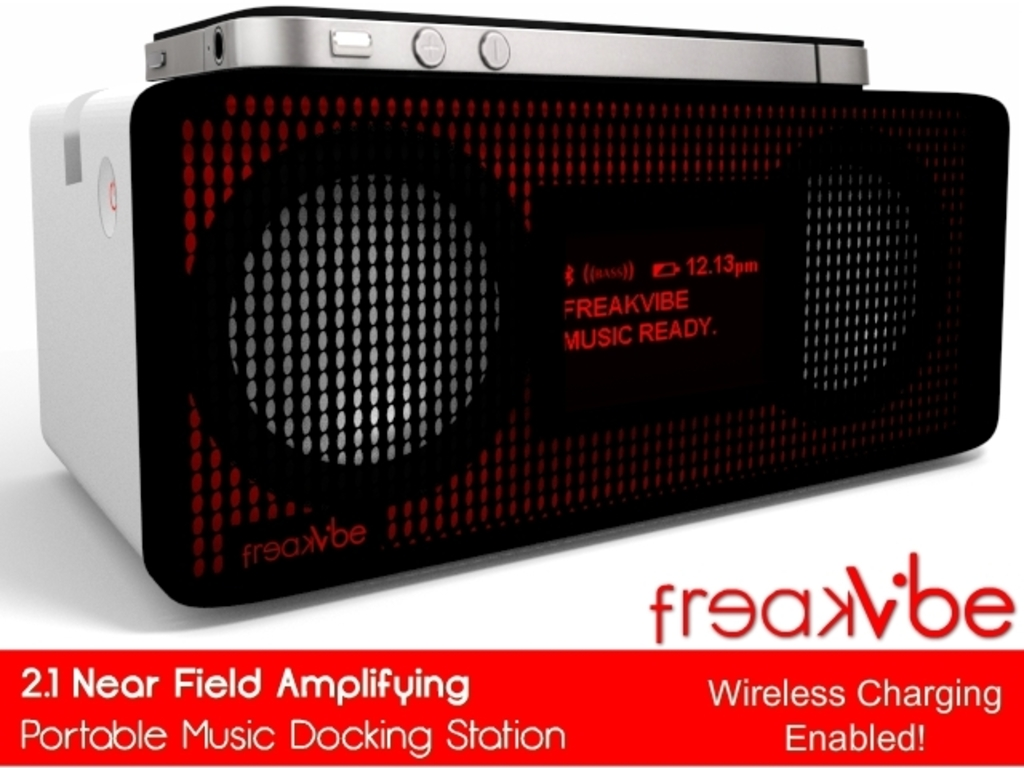 Freakvibe: Near Field Portable 2.1 Music Docking Station.'s video poster