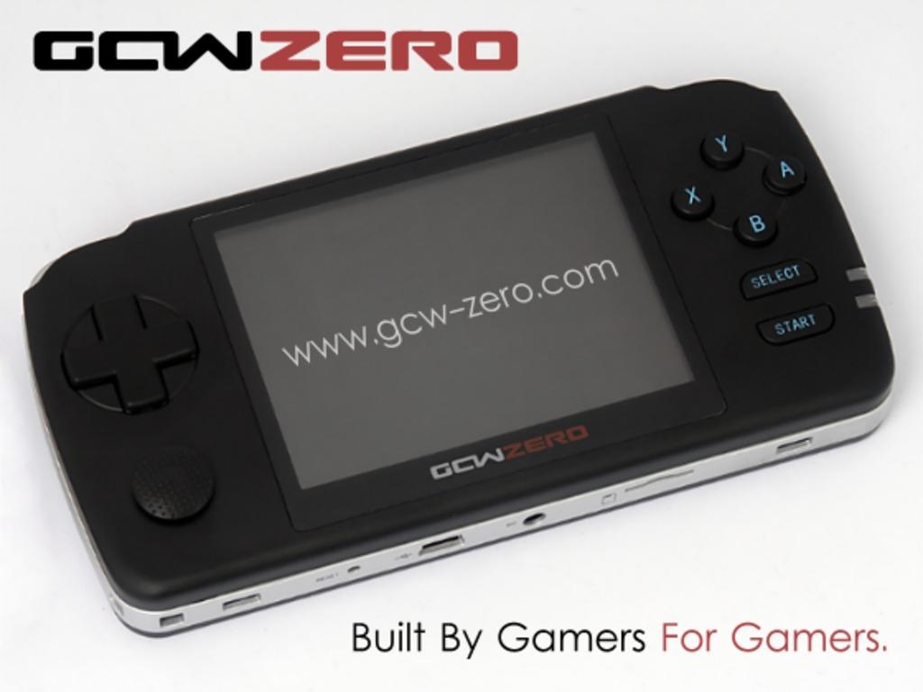GCW-Zero: Open Source Gaming Handheld's video poster