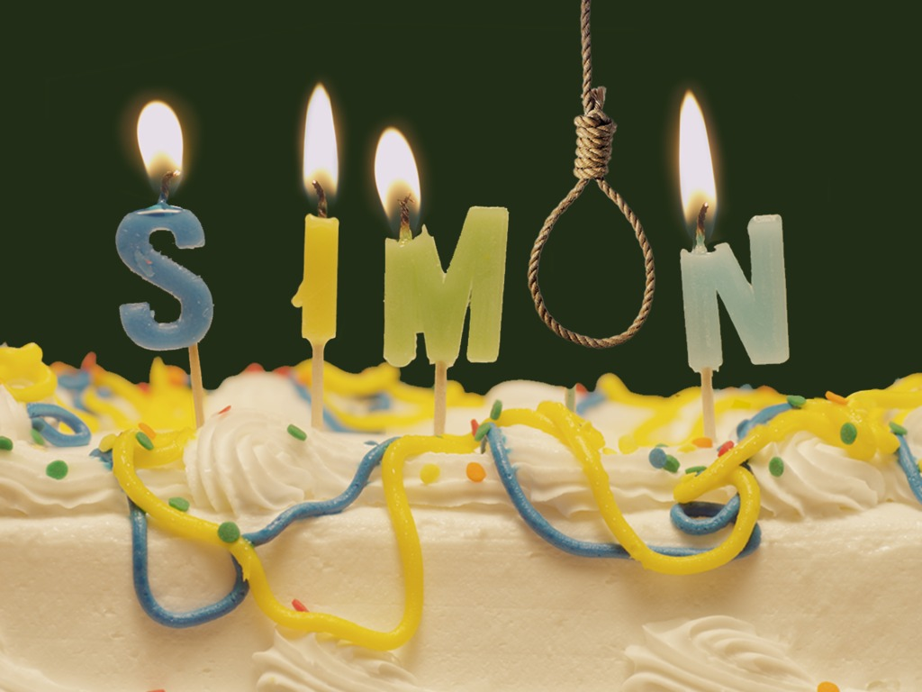 Simon: A Birthday Suicide's video poster