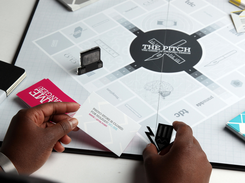 The Pitch: The Game of Graphic Design's video poster