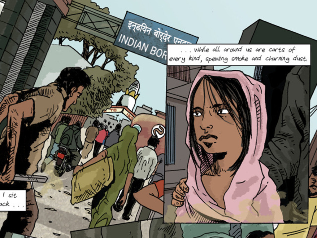 Graphic Journalism on Human Trafficking in Nepal's video poster