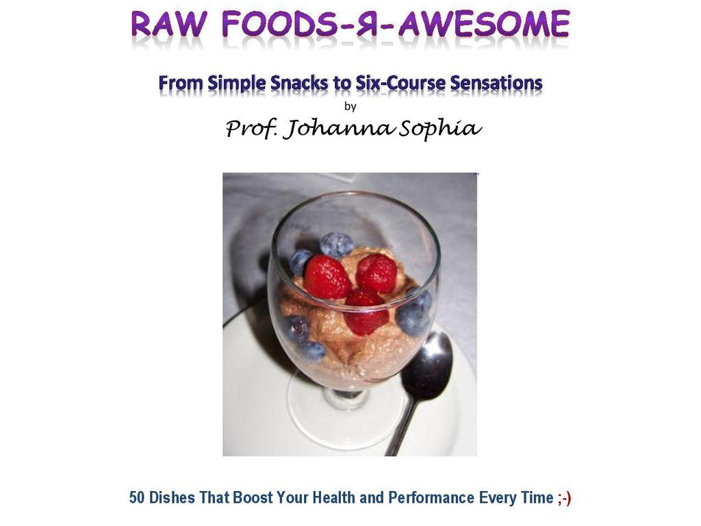 """""""Raw Foods R Awesome"""" Get Your TRUFFLES for HEALTH :-)'s video poster"""