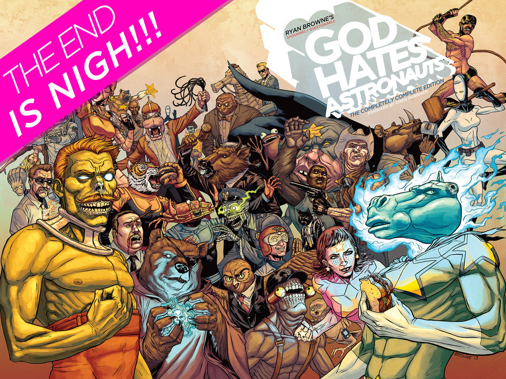 God Hates Astronauts: The Completely Complete Edition's video poster