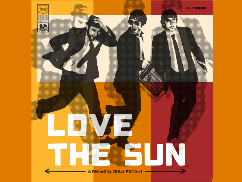 "Crazy Famous / New Album""Love the Sun""'s video poster"