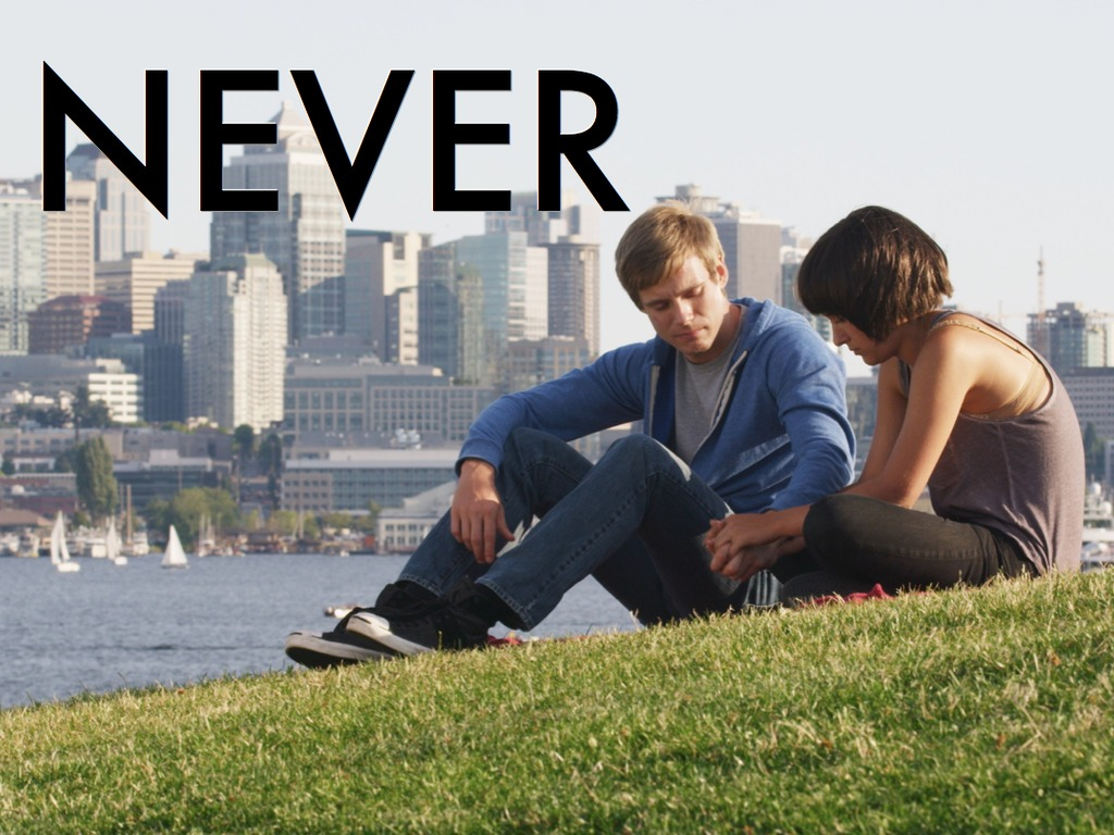 NEVER's video poster