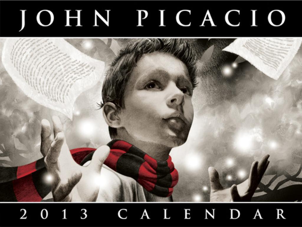 The 2013 John Picacio Calendar's video poster