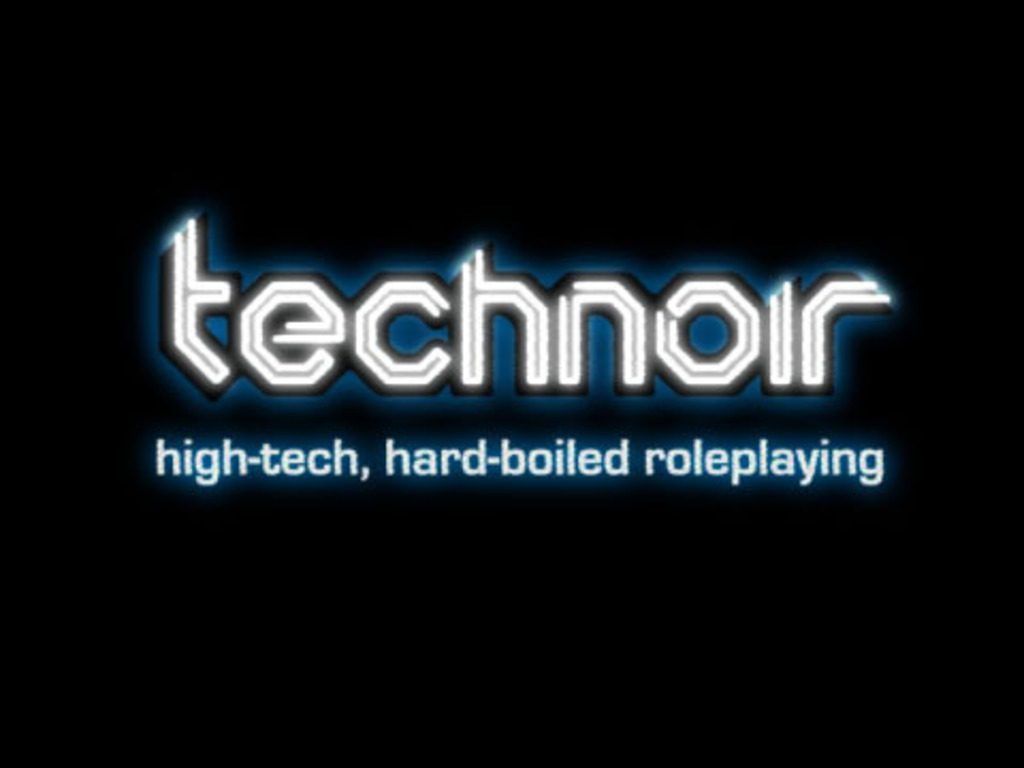 Technoir: high-tech, hard-boiled roleplaying's video poster