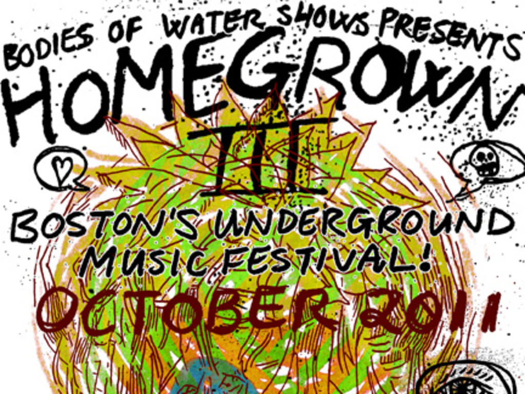 HOMEGROWN III: Boston's Underground Music Festival's video poster