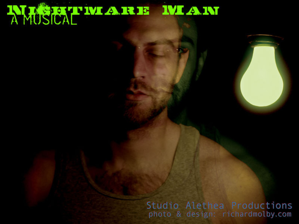 Nightmare Man- A New Musical's video poster