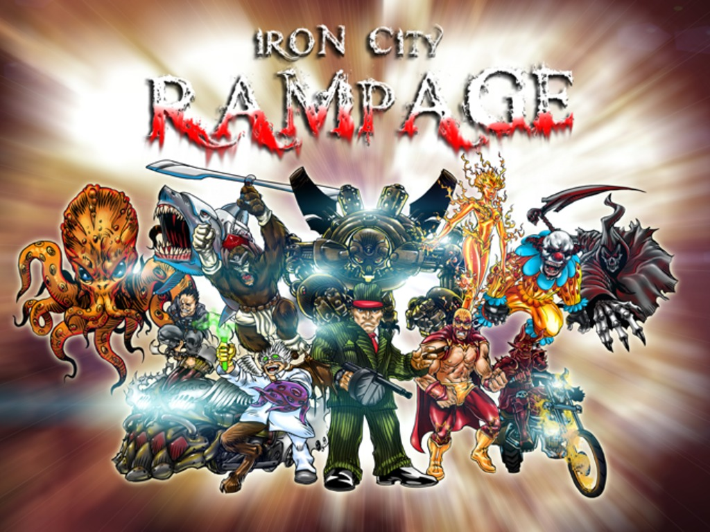 Iron City Rampage's video poster