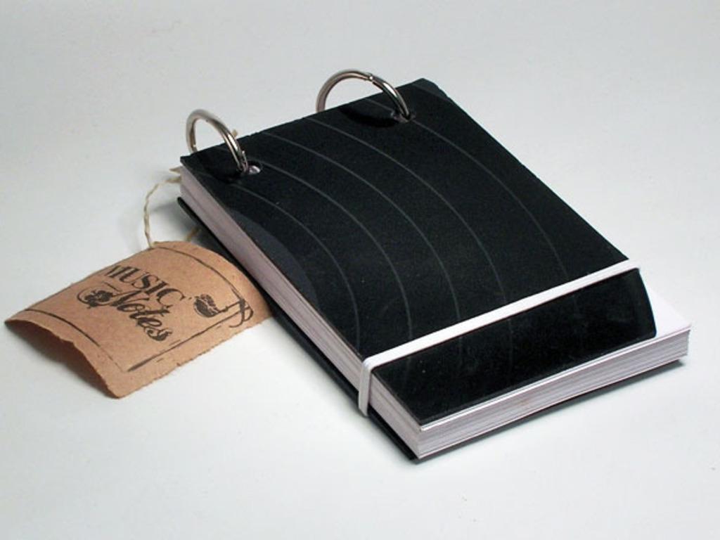 Music Notes Pocket Sketchbook / Notebook's video poster
