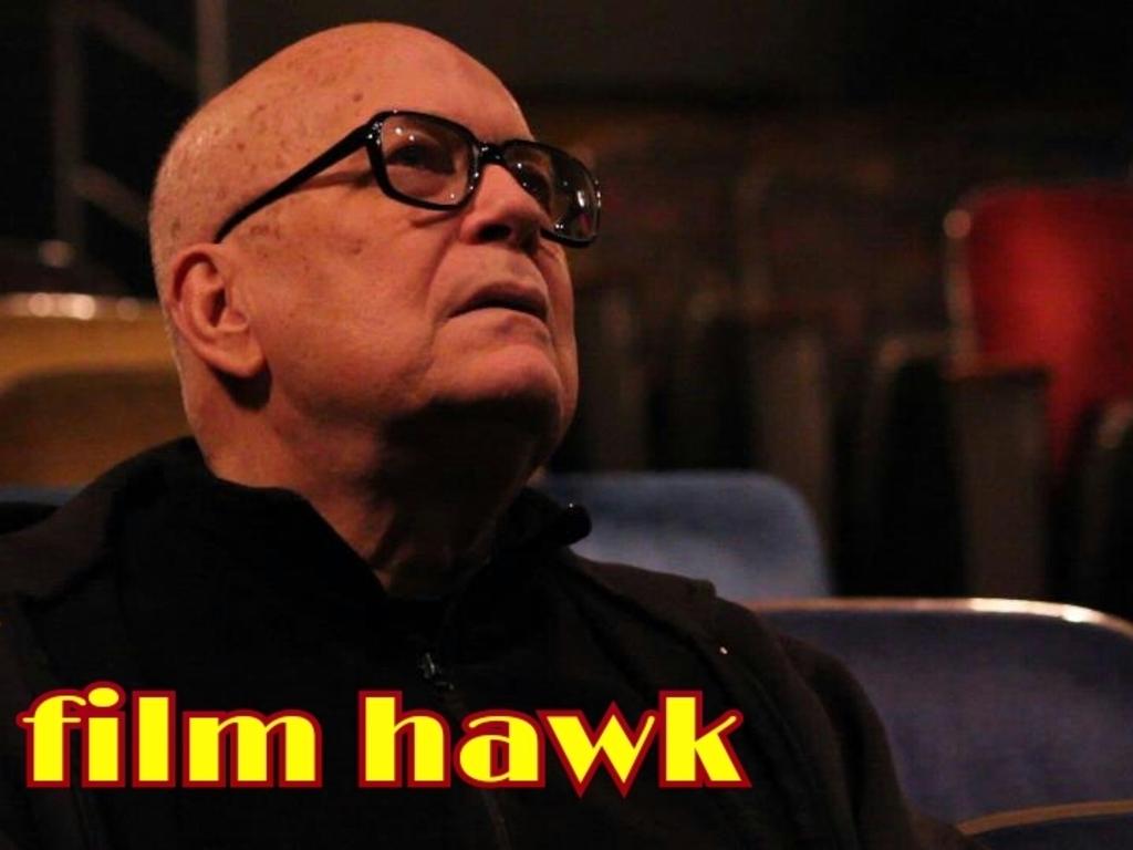 FILM HAWK - a documentary on Bob Hawk's video poster