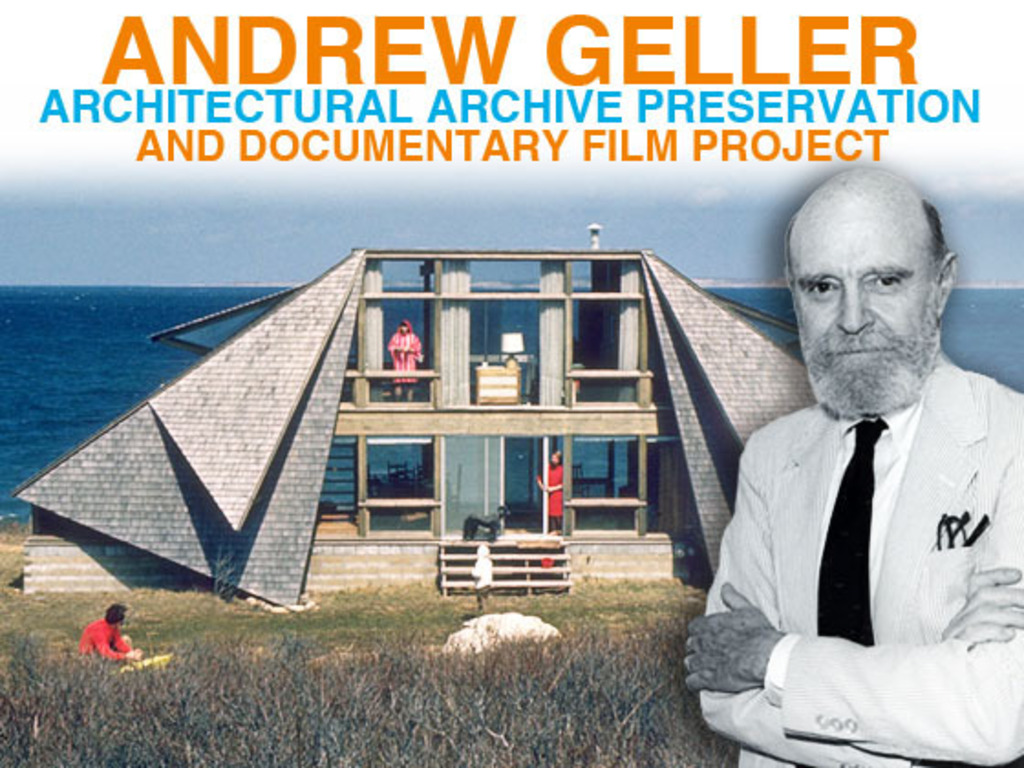 Save Midcentury Modern Architect Andrew Geller's Archive's video poster