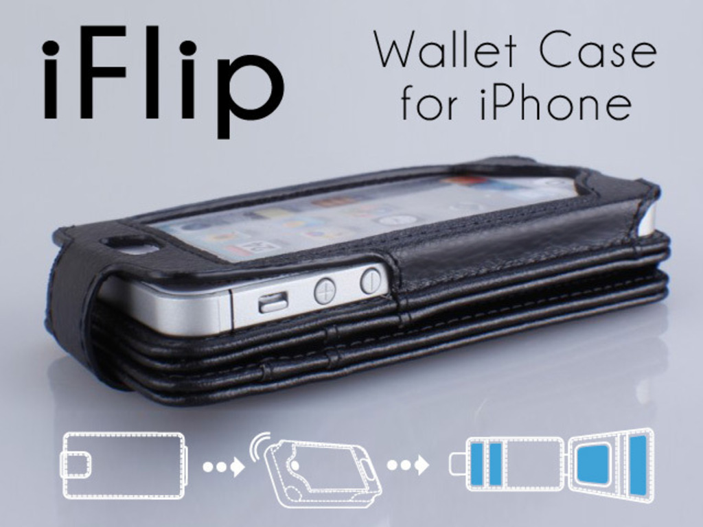 iFlipWallet. The Evolution of the iPhone Wallet Case.'s video poster
