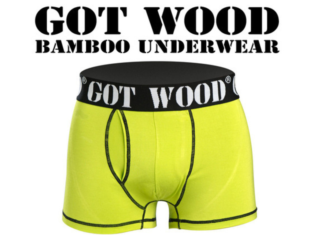 Eco  Bamboo Underwear funding....GOT WOOD ?'s video poster