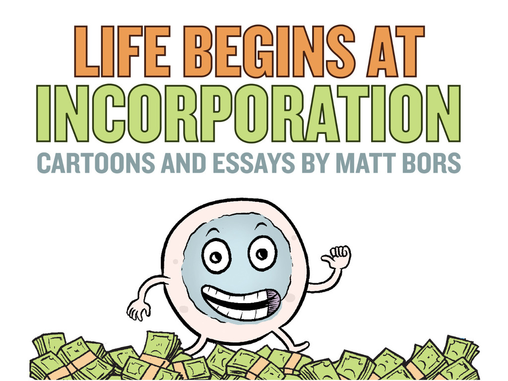 Life Begins At Incorporation: cartoons and essays's video poster
