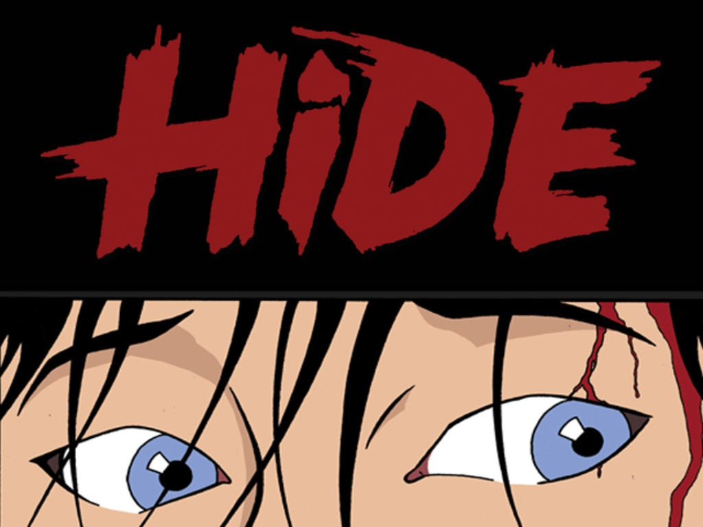 """HIDE"" - A Graphic Novel Of Adolescent Horror's video poster"