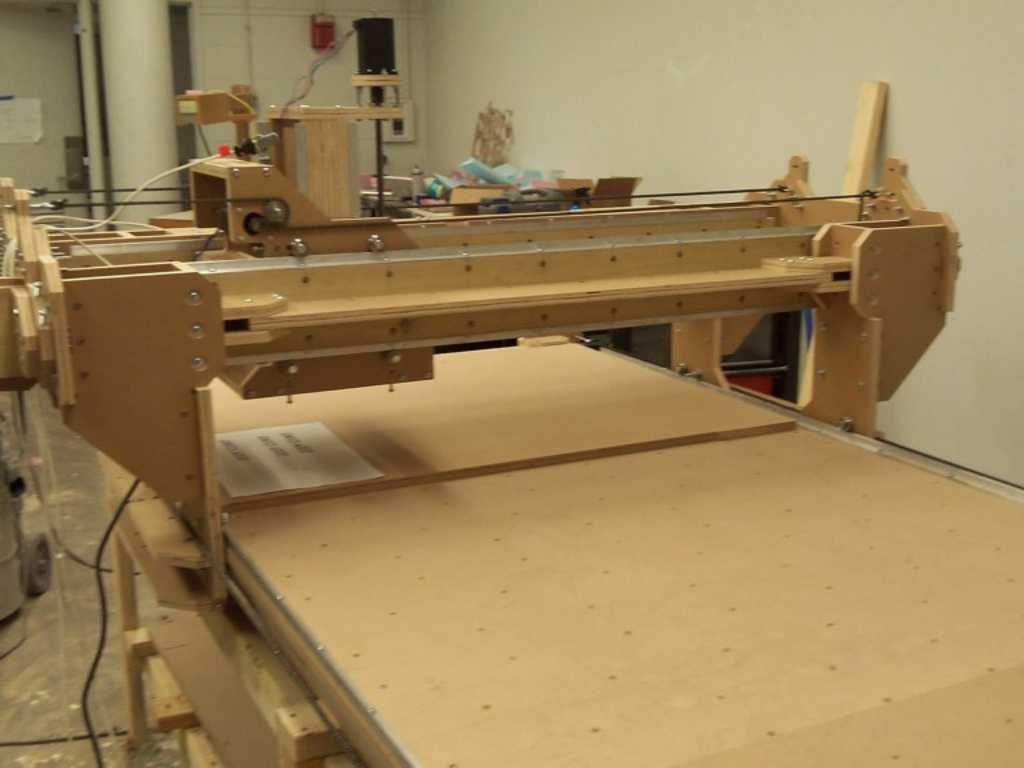 Kikori Open Source CNC Gantry Router's video poster
