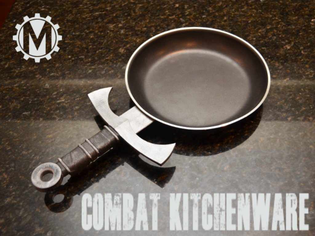 Combat Kitchenware's video poster