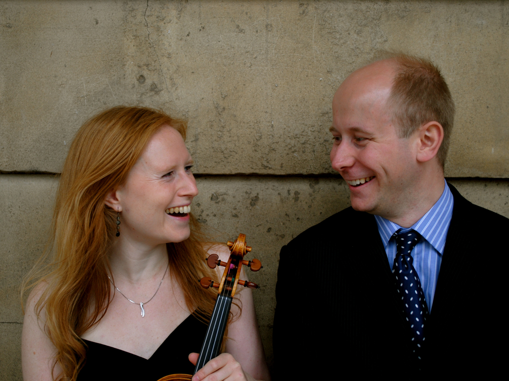 Steinberg Duo's debut album of all-English violin sonatas's video poster