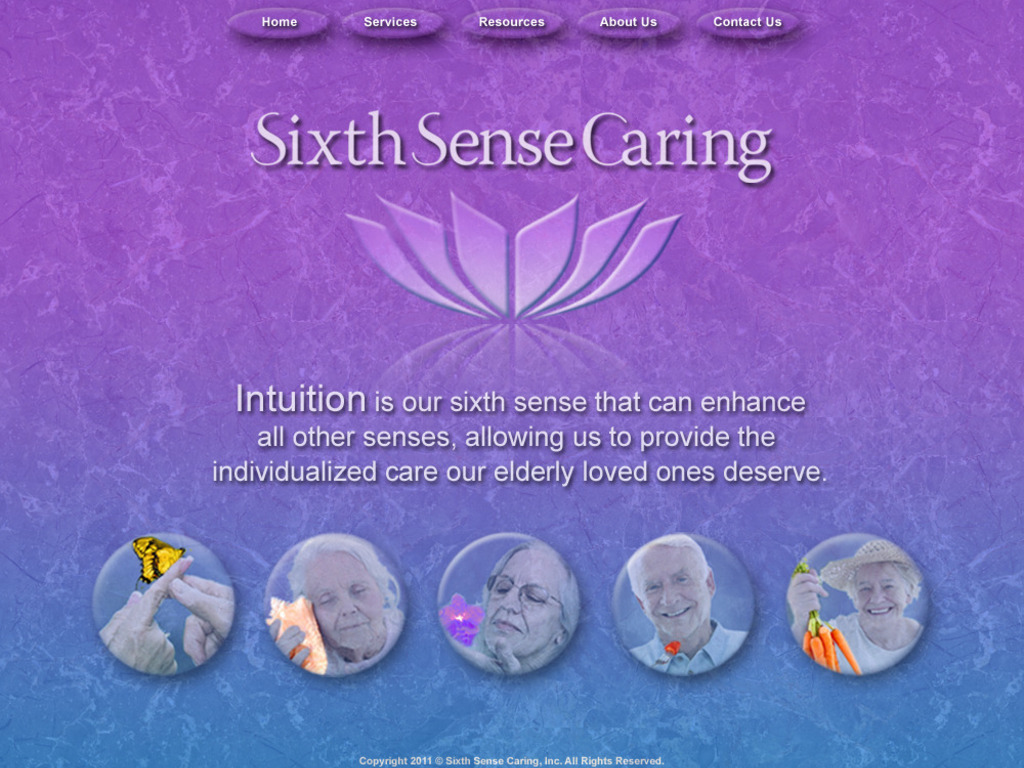 Sixth Sense Caring: Stories of Creative Eldercare's video poster