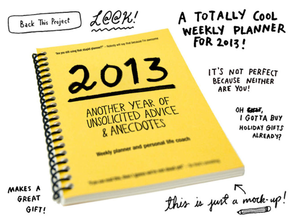 """""""2013, Another Year of Unsolicited Advice & Anecdotes""""'s video poster"""