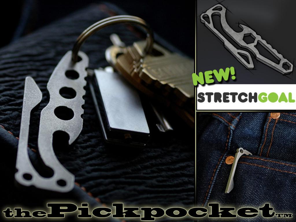 the Pickpocket™: Pocketclip/Bottle Opener's video poster