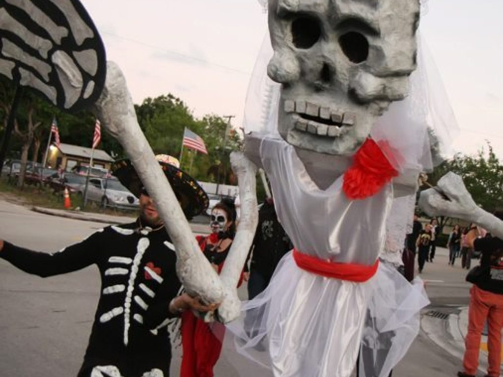 South Florida DAY OF THE DEAD Skeleton Processional's video poster