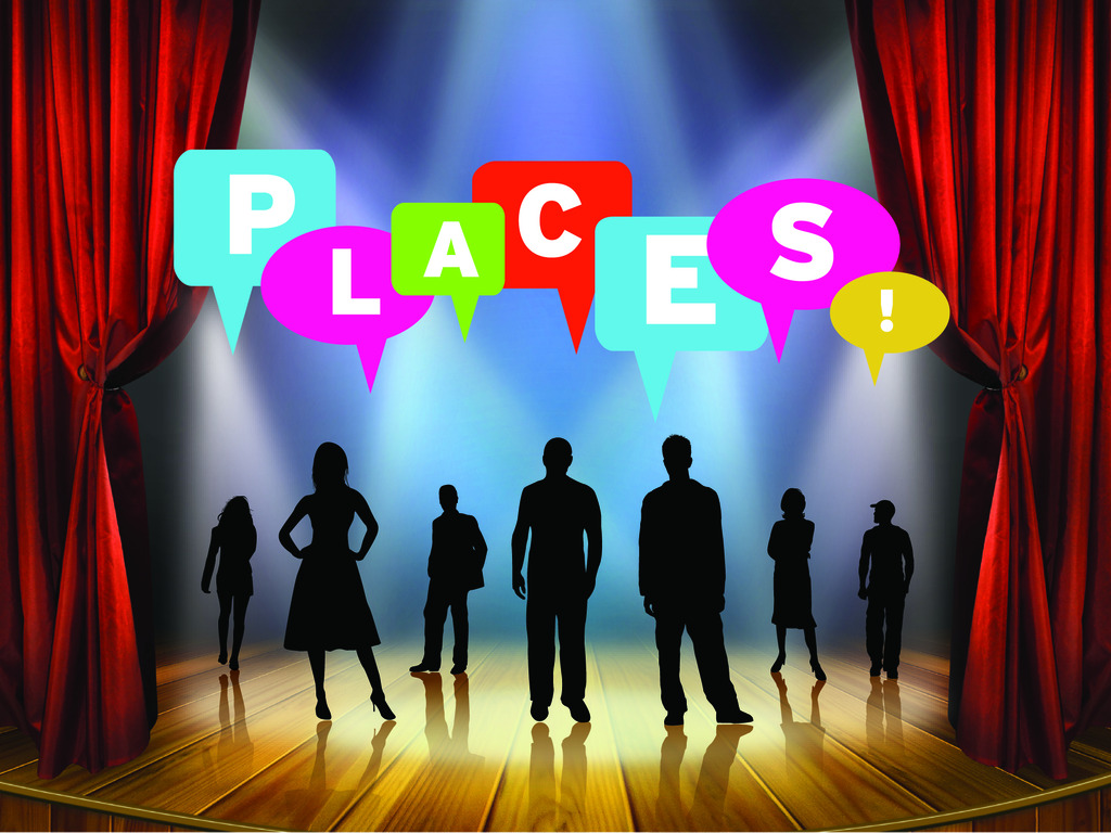 PLACES! The Musical's video poster