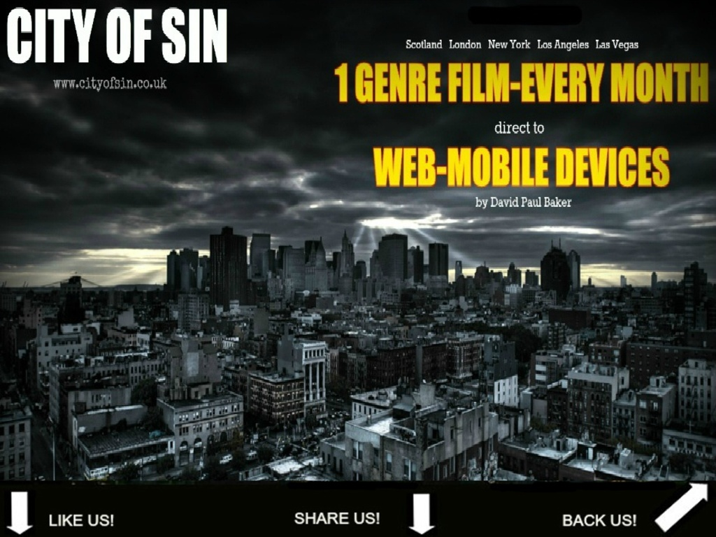 """""""CITY OF SIN"""" UNIVERSE's video poster"""