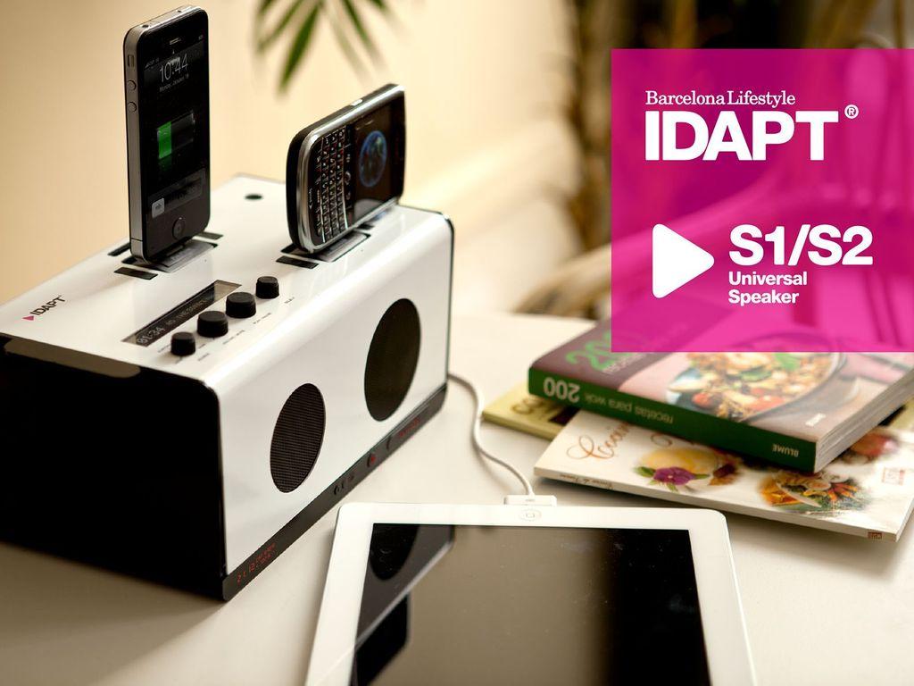 IDAPT's S1/S2: Universal Multi-Docking & Charging Speakers's video poster