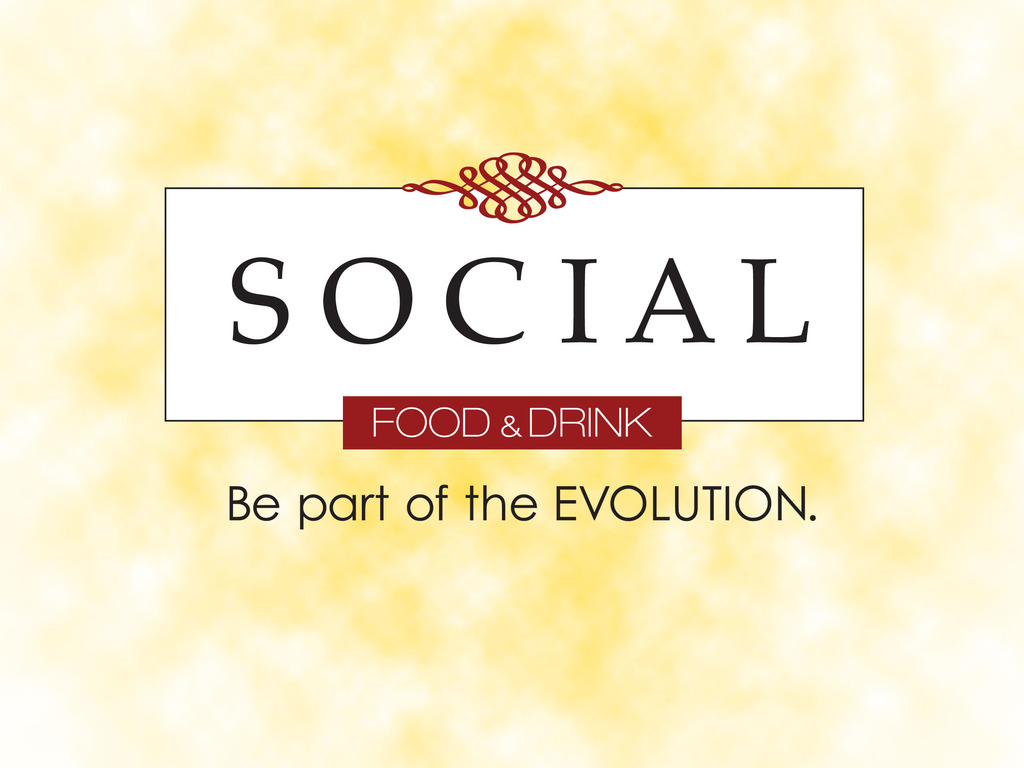 SOCIAL food & drink:  Be part of the EVOLUTION's video poster