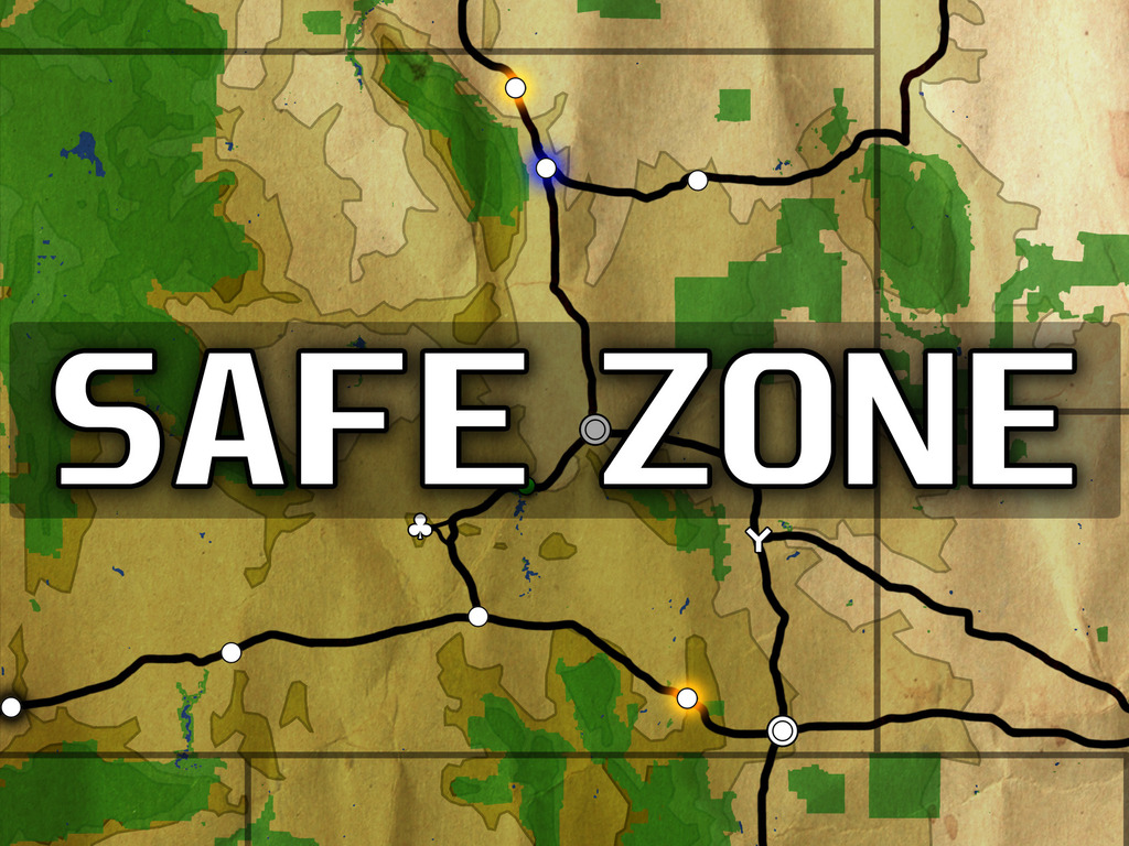 Safe Zone - Survive a Zombie-Infested Odyssey Across the USA's video poster
