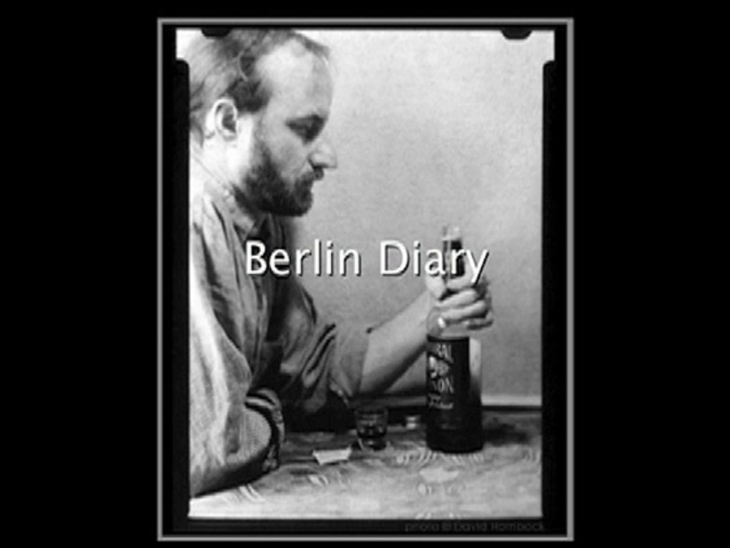Berlin Diary  rescuing an old technique--paper negatives's video poster