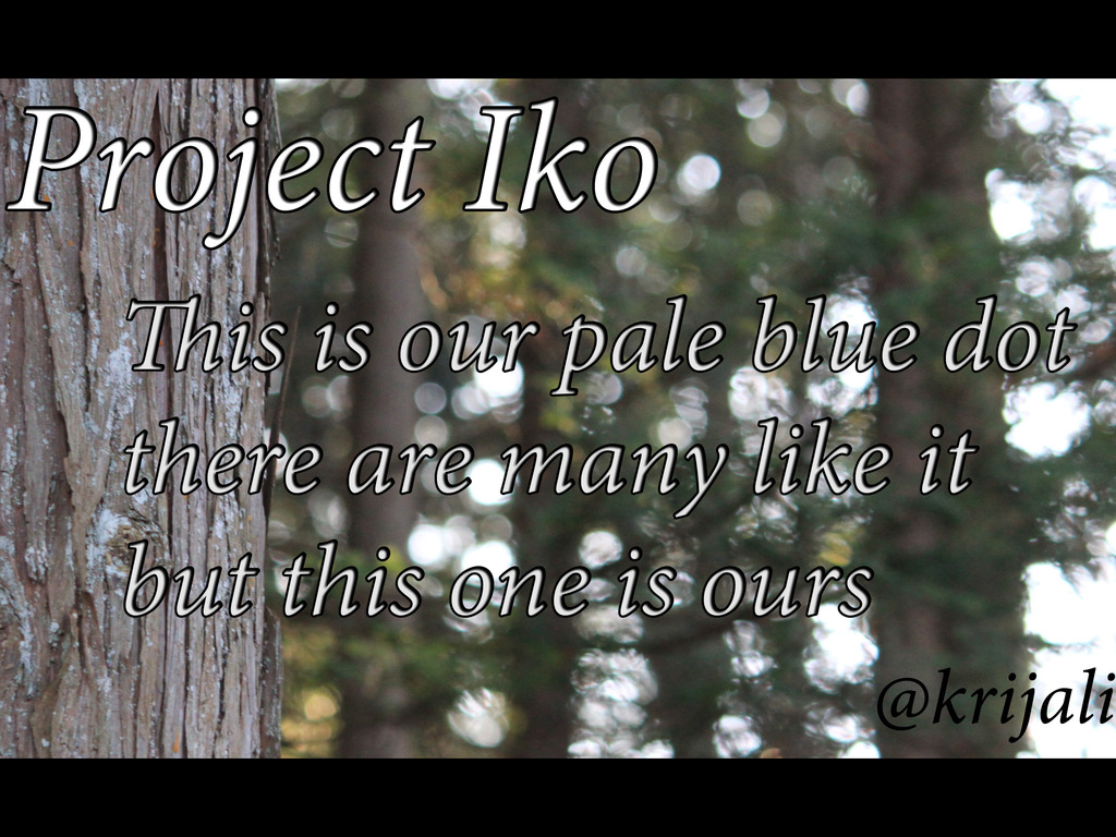 Project Iko's video poster