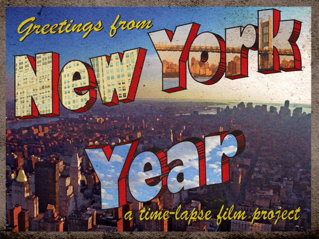 New York Year's video poster