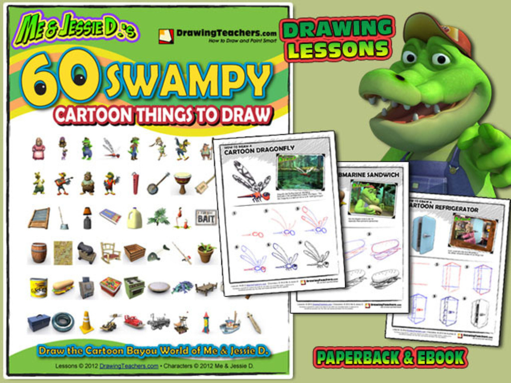 60 Swampy Cartoon Things to Draw's video poster