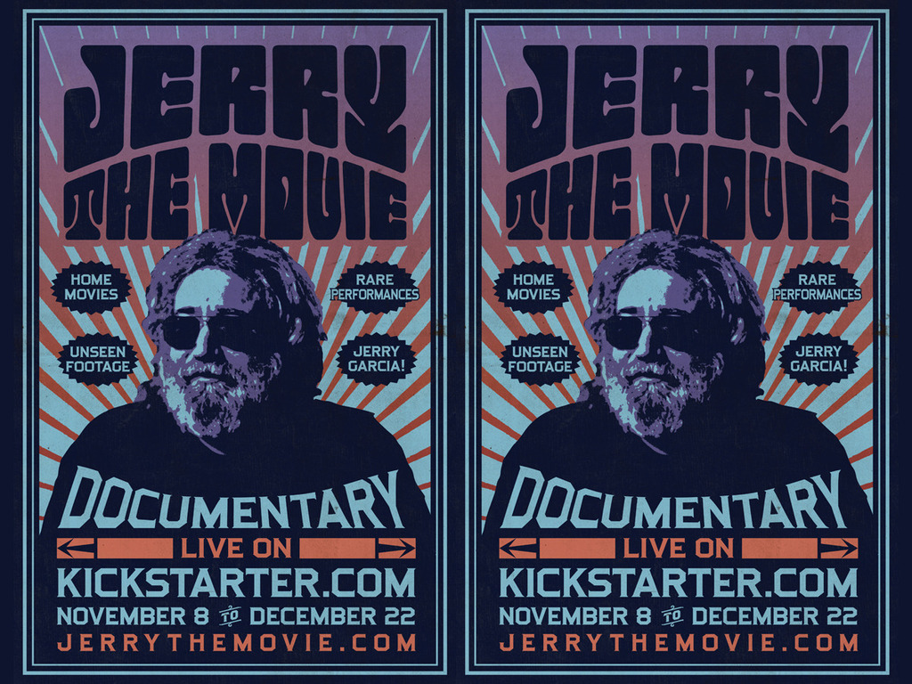 JERRY: THE MOVIE, A Jerry Garcia Documentary's video poster