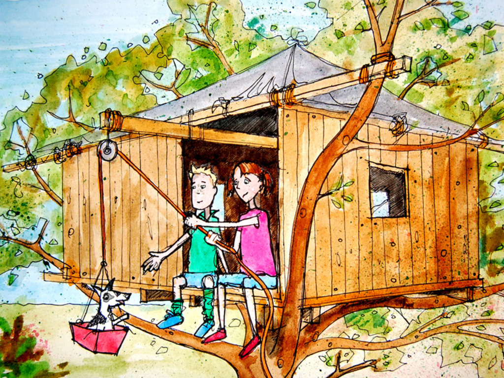 Will and Dot's Terrific Treehouse's video poster