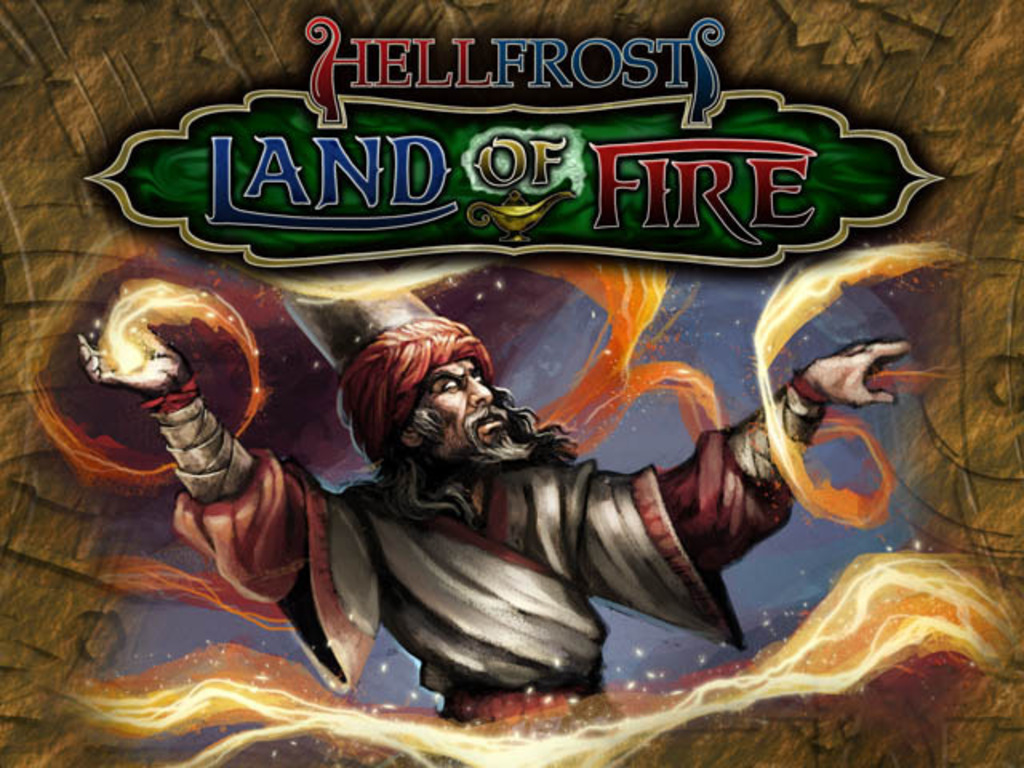 Hellfrost Land of Fire - Arabian Nights RPG Fantasy Setting's video poster