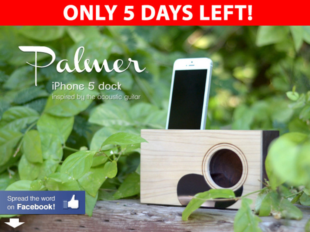 Palmer :: Acoustic iPhone 5 Dock's video poster